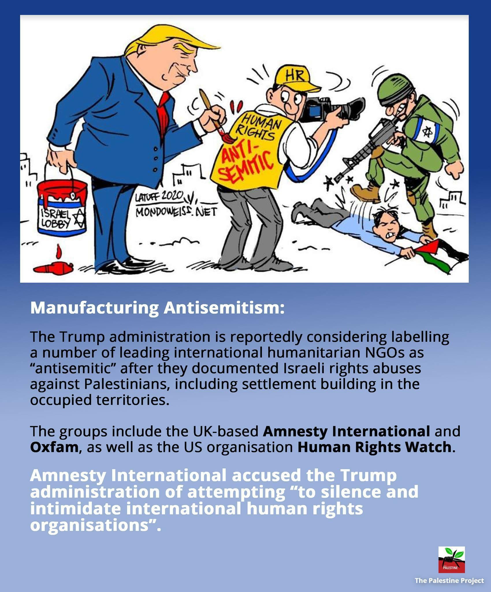 Manufacturing Anti-semistism
