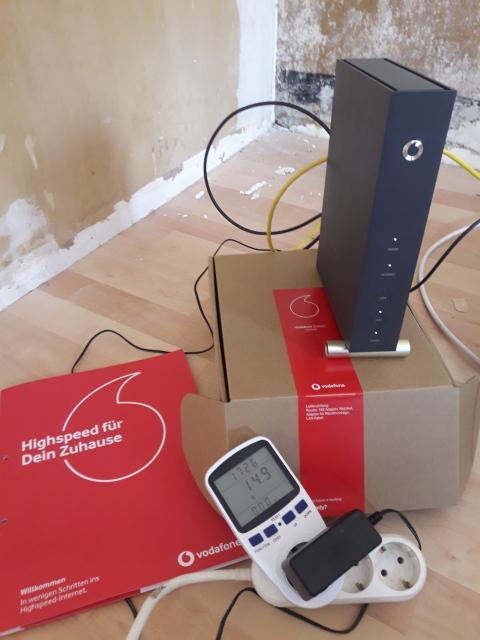Stromverbrauchsmessung Vodafone Device